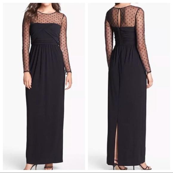 c8b41df3cae Eliza J Dresses   Skirts - Eliza J Illusion Yoke Jersey Dress SZ 8P